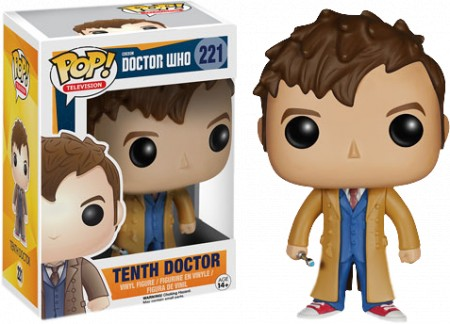 Funko Pop  10th Doctor David Tennant - Vaulted-Doctor Who-221