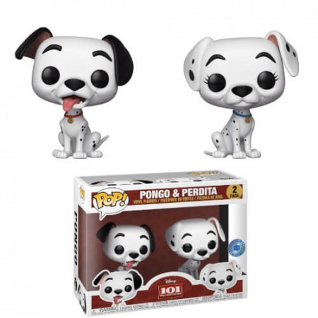 Funko Pop Pongo And Perdita Exclusivo-Disney-2