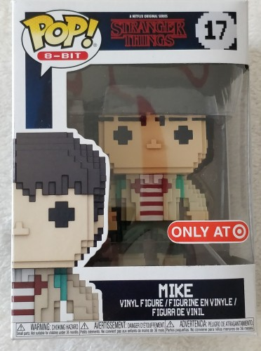 Funko Pop! 8-bit Mike - Target-Stranger Things-17