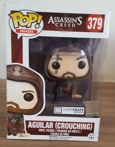 Funko Pop! Aguilar (crouching)-Movies-379