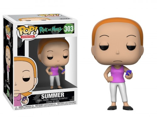 Funko Pop! Animation - Rick And Morty - Summer-Rick and Morty-303