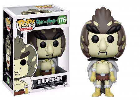 Funko Pop! Animation: Rick & Morty - Birdperson - Rick And Morty - #176
