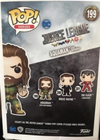 Funko Pop! DC: Aquaman And Motherbox - Justice League - #199