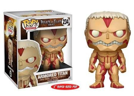Funko Pop! Armored Titan-Attack on Titan-234
