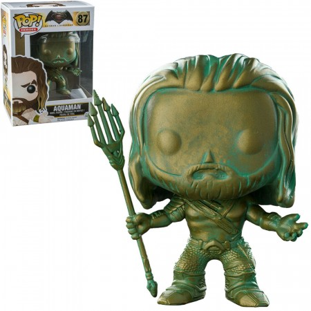 Funko Pop! Batman V Superman Exclusive - Aquaman (patina)-Dc Heroes-87