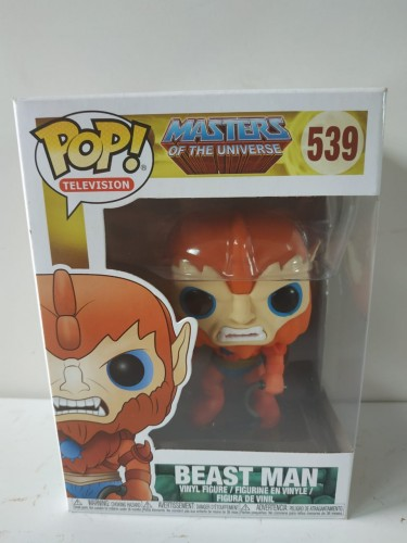 Funko Pop! Beast Man - Master Of The Universe-Masters of the Universe-539