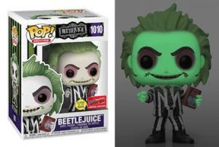 Funko Pop! Beetlejuice Fall Convention 2020 Glow In The Dark-Beetlejuice-1010