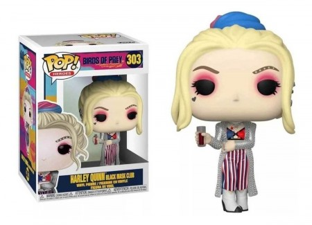 Funko Pop! Birds Prey - Harley Quinn (black Mask Club)-Aves de Rapina-303