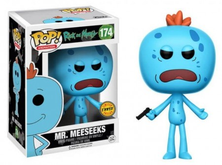 Funko Pop! Chase Mr. Meeseeks-Rick and Morty-174