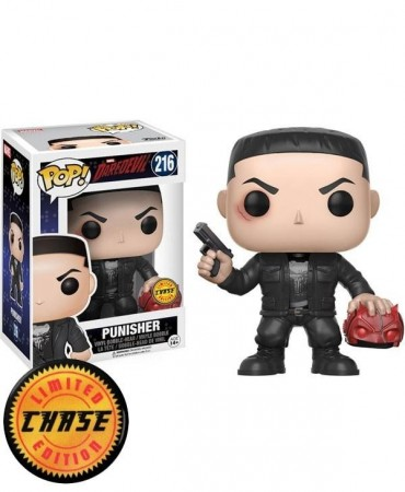 Funko Pop! Chase Punisher-Marvel .-216