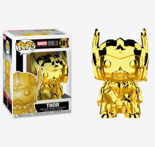 Funko Pop! Chrome Thor-Marvel Studios-381