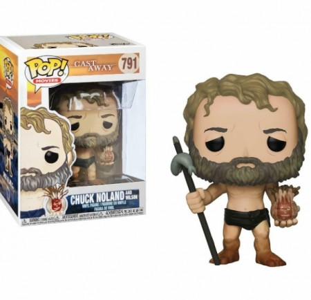 Funko Pop! Chuck Noland And Wilson-Cast Away-791