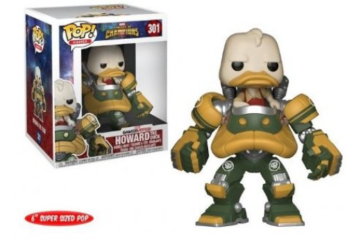 "Funko Pop! Contest Of Champions Howard The Duck 6"" - Contest of Champions - #301"