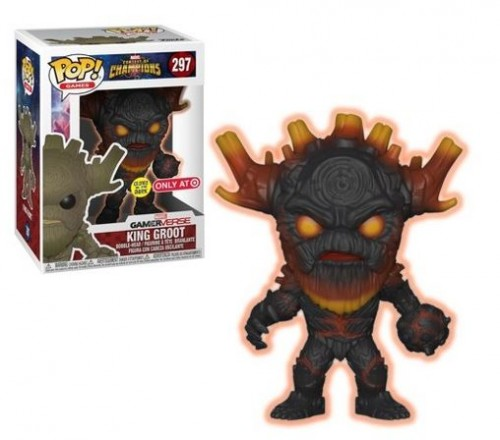 Funko Pop! Contest Of Champions King Groot Brilha No Escuro-Contest of Champions-297