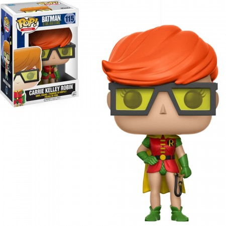 Funko Pop! Dc Heroes: Batman The Dark Knight Returns - Carrie Kelley Robin-Dc Heroes-115