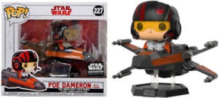 Funko Pop! Deluxe Poe Dameron With X-wing-Star Wars-227