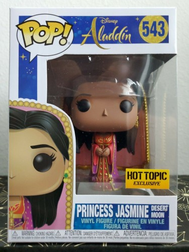 Funko Pop! Disney Aladdin - Princess Jasmine #543 Hot Topic-Disney Alladin-1