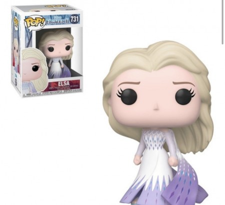 Funko Pop! Disney Elsa Epilogue Dress - Pronta Entrega-Frozen II-731