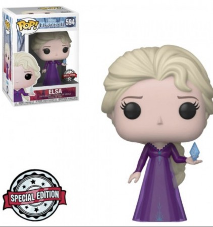 Funko Pop! Disney Frozen 2: Elsa Special Edition-Frozen II-594