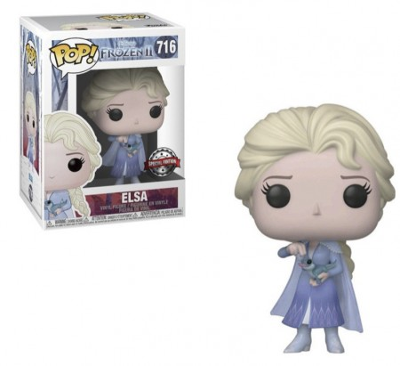 Funko Pop! Disney Frozen 2: Elsa Com Bruni Special Edition-Frozen II-716