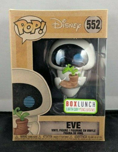 Funko Pop! Disney Wall E - Eve #552 Earth Day Boxlunch Exc-Wall-E-1