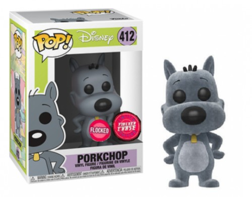 Funko Pop! Doug Funnie - Porkchop  - Chase Flocked-Disney Doug-412
