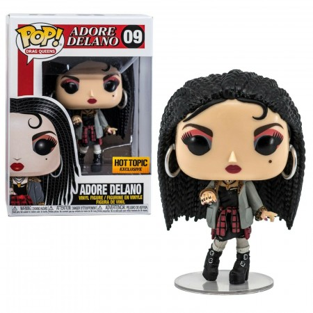 Funko Pop! Drag Queens Adore Delano Exclusivo Hot Topic-Drag Queens-9