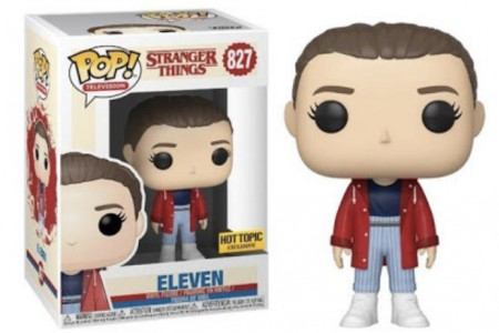 Funko Pop! Eleven Hot Topic-Stranger Things-827