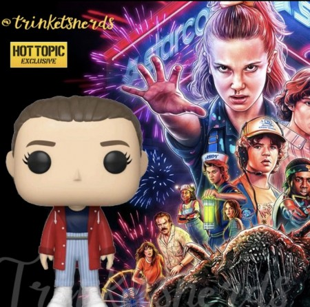 Funko Pop! Eleven Hot Topic - Stranger Things - #827