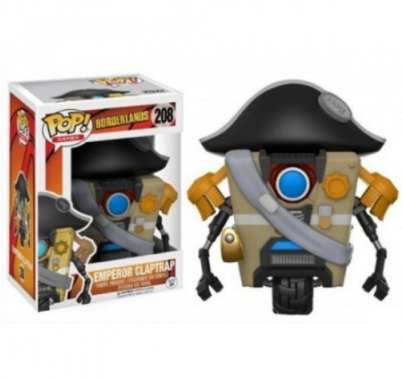 Funko Pop! Emperor Claptrap-Borderlands-208