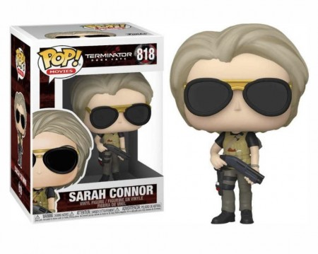 Funko Pop! Exterminador Do Futuro: Sarah Connor-Terminator - Dark Fate-818