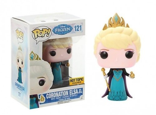 Funko Pop! Frozen - Coronation Elsa With Orb & Scepter-Frozen-121