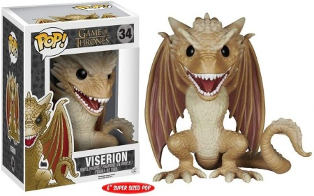Funko Pop! Game Of Thrones - Viserion #34-Game Of Thrones-34