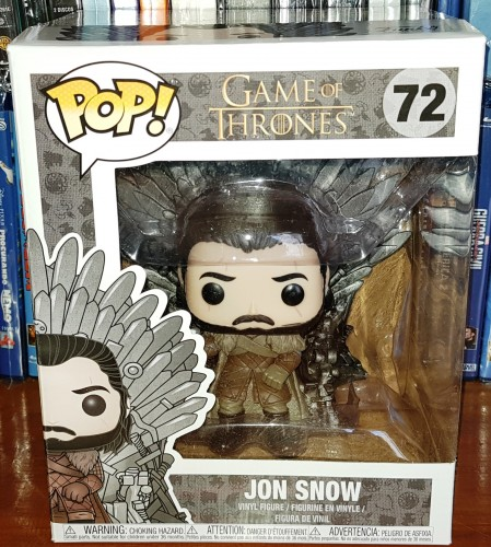 Funko Pop! Game Of Thrones - Jon Snow On Iron Throne-Game of Thrones-72