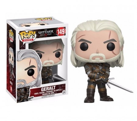 Funko Pop! Games - The Witcher 3 - Geralt-The Witcher-149