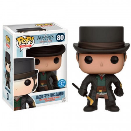 Funko Pop! Games: Assasins Creed Syndicate - Jacob Frye (uncloaked) - Assassins Creed - #80