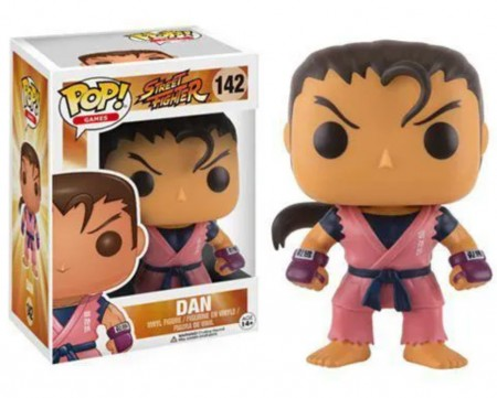 Funko Pop! Games: Street Fighter - Dan - Street Fighter - #142