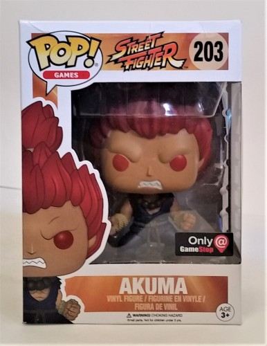 Funko Pop! Games Street Fighter Akuma Exclusive Gamestop-Street Fighter-203