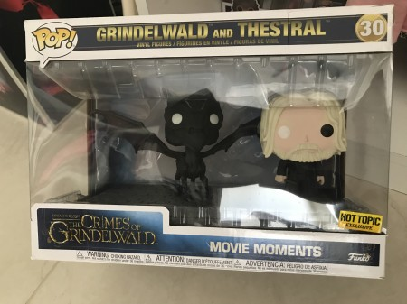 Funko Pop! Grindewald And Thestral Pack Exclusivo Hottopic - Animais Fantásticos - #30