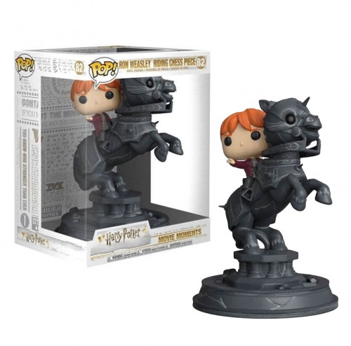 Funko Pop! Harry Potter - Ron Weasley Riding Chess Piece-Harry Potter-82