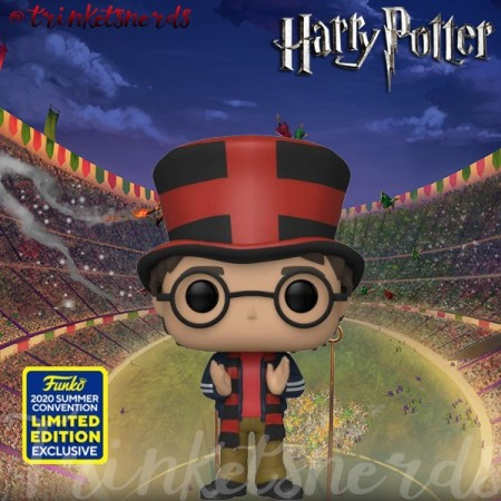 Funko Pop! Harry Potter: Harry At World Cup Sdcc 2020 - Harry Potter - #120