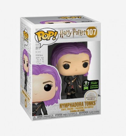 Funko Pop  Harry Potter Eccc 2020- Nymphadora Tonks 107 ( Hot Topic Eccc )-Harry Potter-107