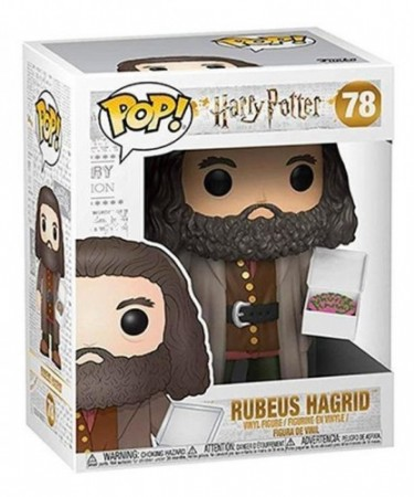 Funko Pop  Harry Potter- Rubeus Hagrid 78-Harry Potter-78
