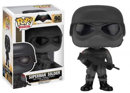 Funko Pop! Heroes Batman Vs Superman - Superman Soldier - Batman Vs Superman - #90
