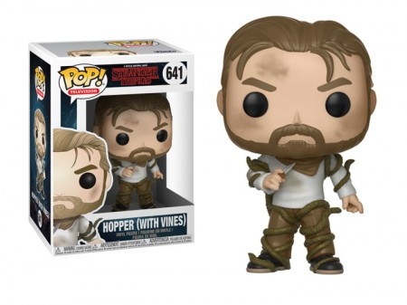 Funko Pop! Hopper With Vines-Stranger Things-641