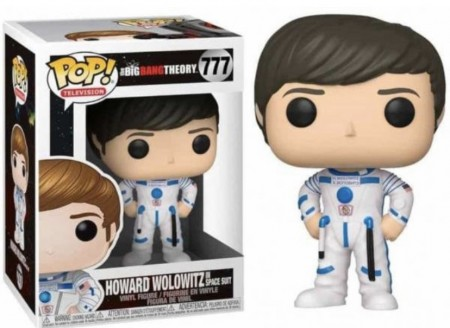 Funko Pop! Howard Wolowitz-The Big Bang Theory-777