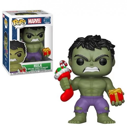 Funko Pop! Hulk Holiday-Marvel .-398