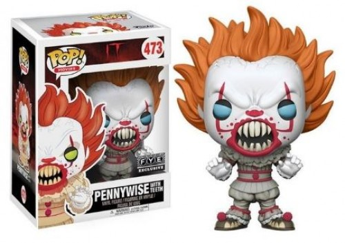 Funko Pop! It Pennywise With Teeth-IT A Coisa-473