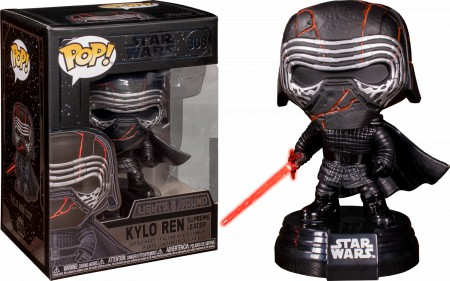 Funko Pop! Star Wars: Kylo Ren Light Up & Sound Electronic-Stars Wars-308