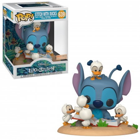 Funko Pop! Lilo & Stitch: Stitch With Ducks Vinyl Exclusivo Boxlunch-Lilo & Stitch-639